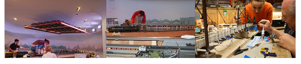 out model railroad team